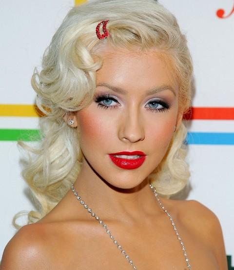 Super Christina Aguilera Hairstyles Cute Retro Hairstyle Pretty Designs Short Hairstyles For Black Women Fulllsitofus
