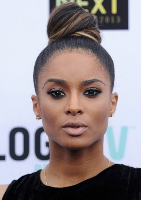 Ciara Long Hairstyle: Cool Knot