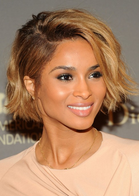 Ciara Short Hairstyle: Mohawk Bob - Pretty Designs