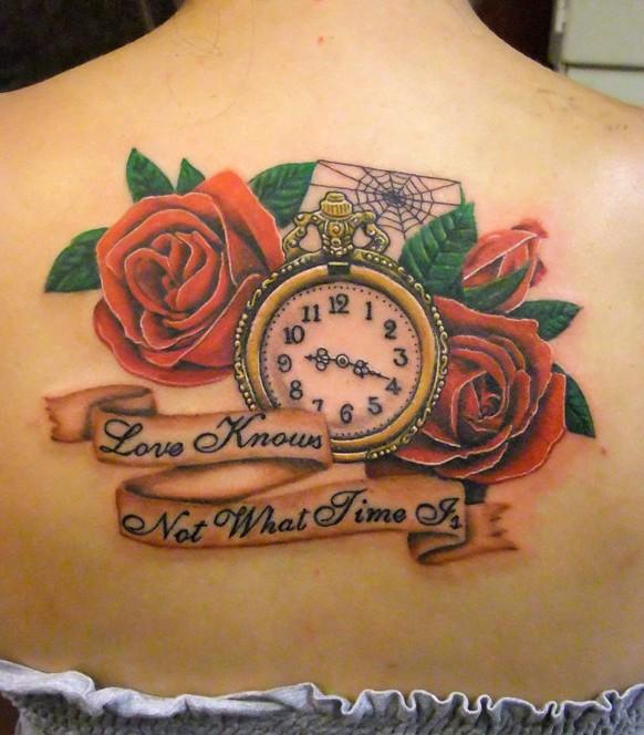 55 best rose tattoos designs best tattoos for women pretty designs. Black Bedroom Furniture Sets. Home Design Ideas