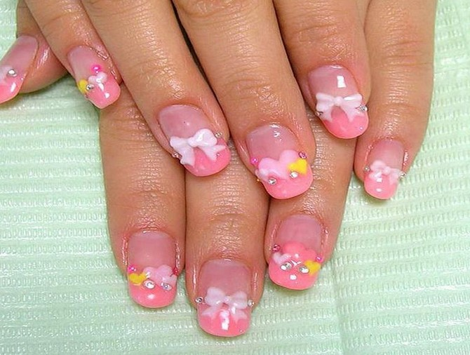 cute acrylic nail designs - photo #24