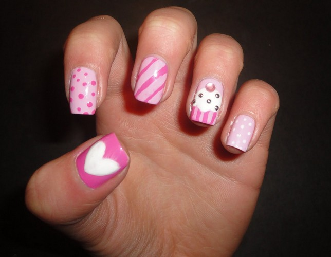 Cute Nail Designs for Kids - Cute Nail Designs For Beginners - Pretty Designs