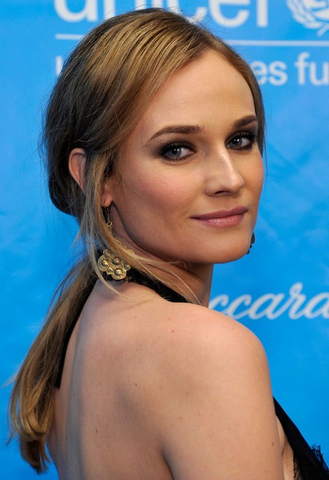 Daine Kruger Hairstyles: Graceful Ponytail