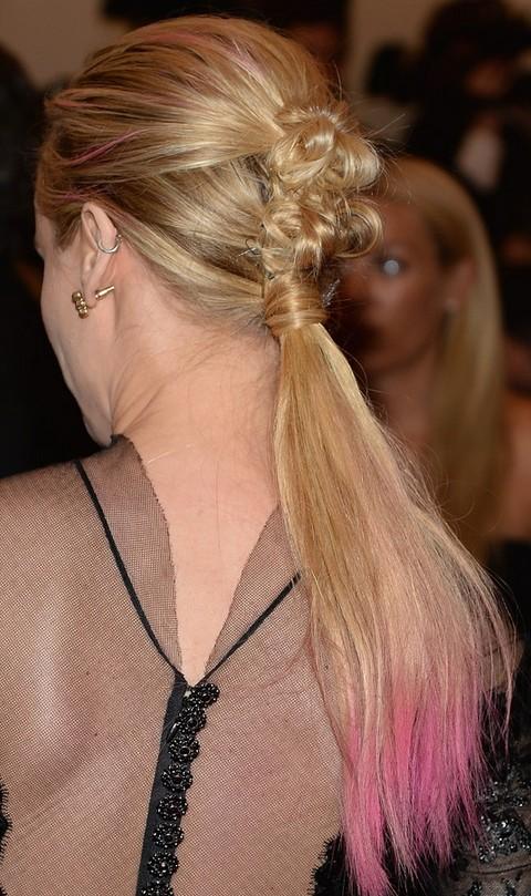 Diane Kruger Hairstyles: Stylish Ponytail