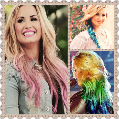 Demi Lovato Hairstyles Ombre Hairstyles