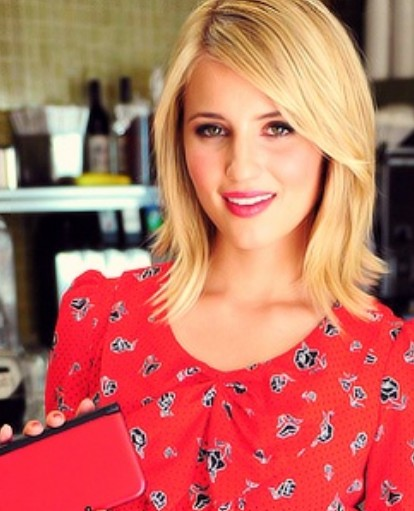 dianna agron hair hartruse - photo #4
