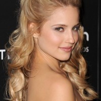 Dianna Agron Hairstyles: Soft Curls