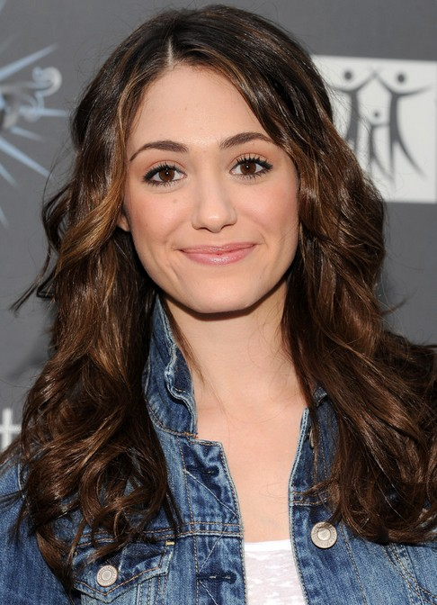 long haircuts for thick hair 33 emmy rossum hairstyles emmy rossum hair pictures 1461 | Emmy Rossum Long Hairstyle Curls for Thick Hair