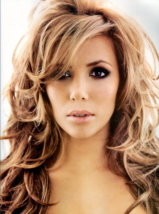 eva longoria hairstyles amazing curls pretty designs. Black Bedroom Furniture Sets. Home Design Ideas