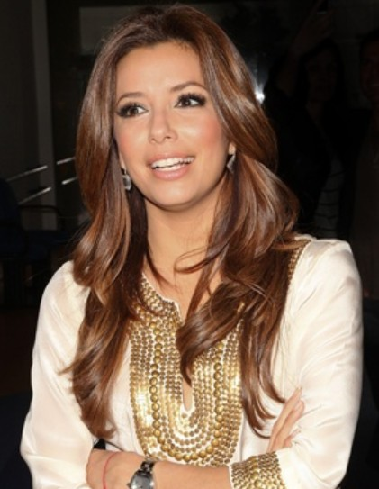 Eva Longoria Hairstyles: Big Waves