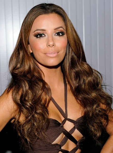 Eva Longoria Hairstyles: Gorgeous Long Curls