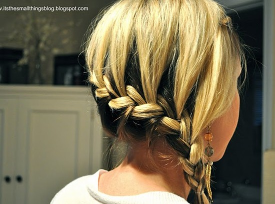 French Braid Tutorials Cute Braided Hairstyles Pretty