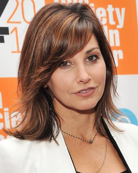 Gina Gershon Hairstyles: Layered Haircut