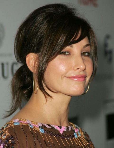 Gina Gershon Hairstyles: Loose Ponytail - Pretty Designs