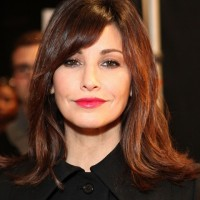 Gina Gershon Hairstyles: Medium Straight Haircut