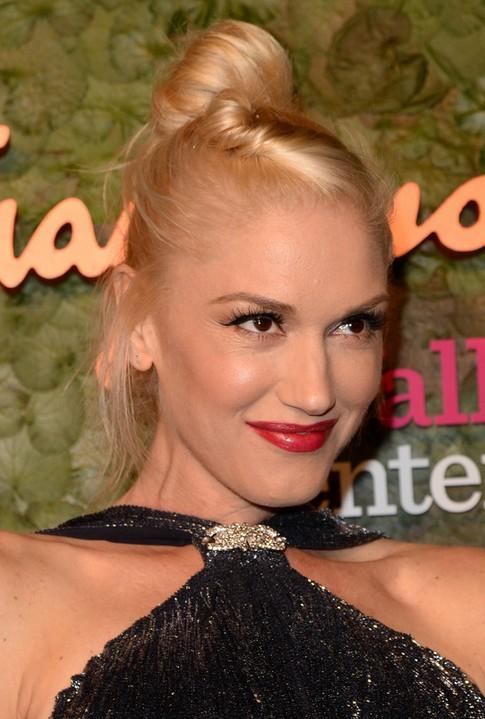 Pleasant Gwen Stefani Long Hairstyle Hair Knot For Grease Hair Pretty Short Hairstyles Gunalazisus