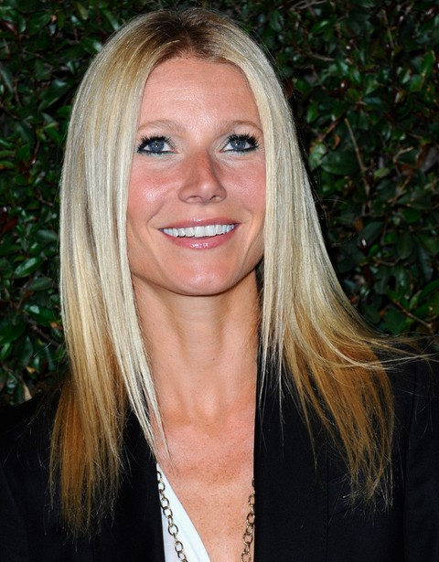 hair band hairstyles : Gwyneth Paltrow Hairstyles: Ombre Hair