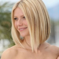 Gwyneth Paltrow Hairstyles: Pretty Long Bob