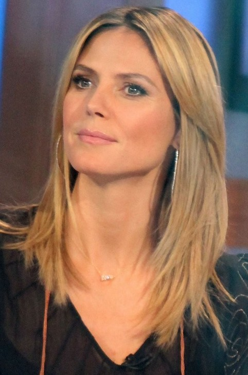 Heidi klum long hairstyle straight haircut pretty designs heidi klum long hairstyle straight haircut urmus Images