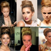 High Bun Tutorials: Messy Updos for Prom 2014