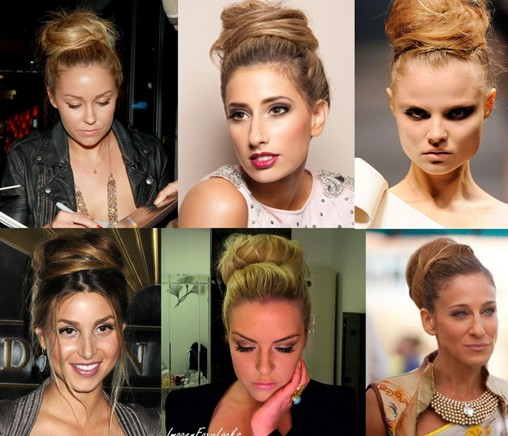 10 High Bun Tutorials : Cute Hairstyles For Everyday