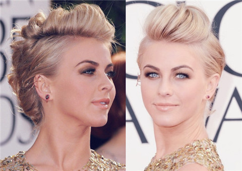 Julianne Hough Hairstyles: French Twist