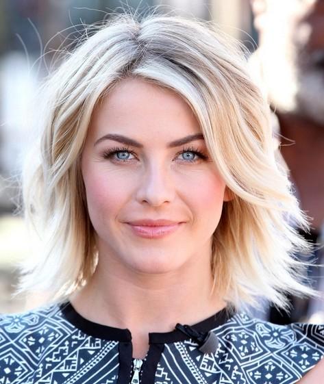 Julianne Hough Hairstyles: Layered Haircut