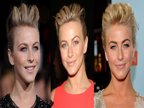 Julianne Hough Hairstyles: Pompadours