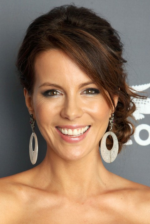 Kate Beckinsale Hairstyles Braided Bun Pretty Designs