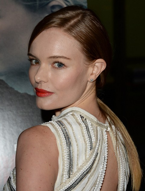 Kate Bosworth Long Hair style: 2014 Ponytail
