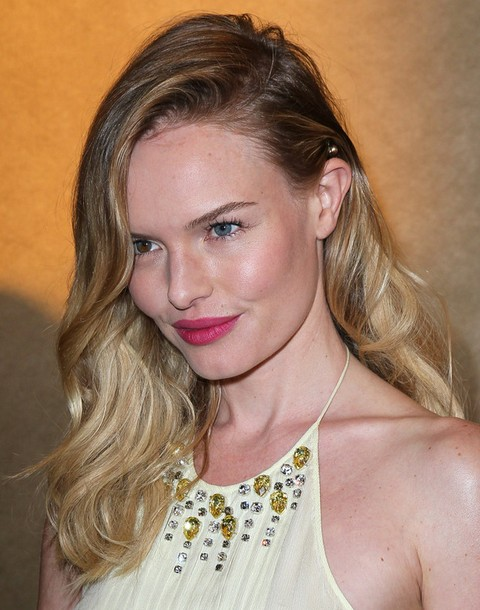Kate Bosworth Long Hairstyle: Side-swept Hair - Pretty Designs