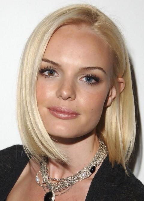 Kate Bosworth Medium Length Hairstyle: Bob