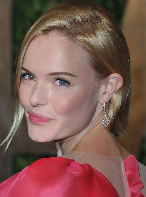 Kate Bosworth Updo Hairstyle: Low Bun