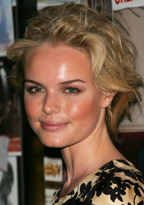 Kate Bosworth Updo Hairstyle: Messy Hair