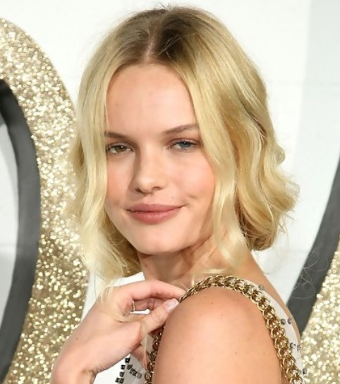 Kate Bosworth Updo Hairstyle: Pinned Up Hair for Picture Day
