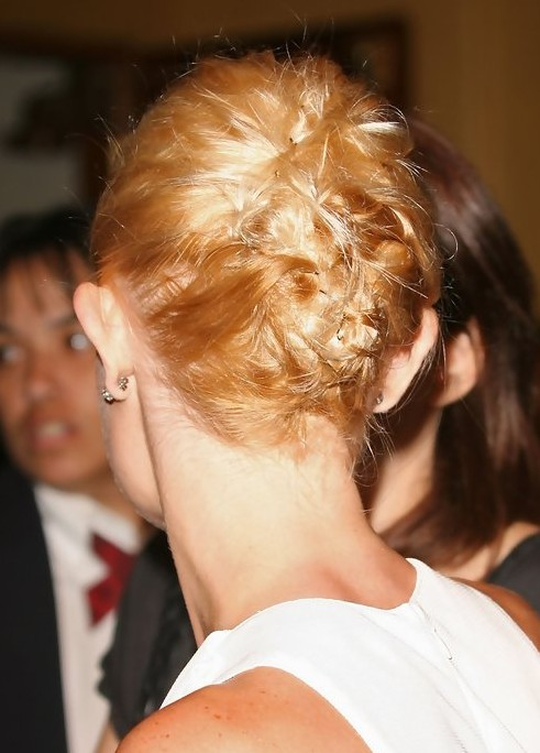 Kate Bosworth Updo Hairstyle: Pinned Up Hair