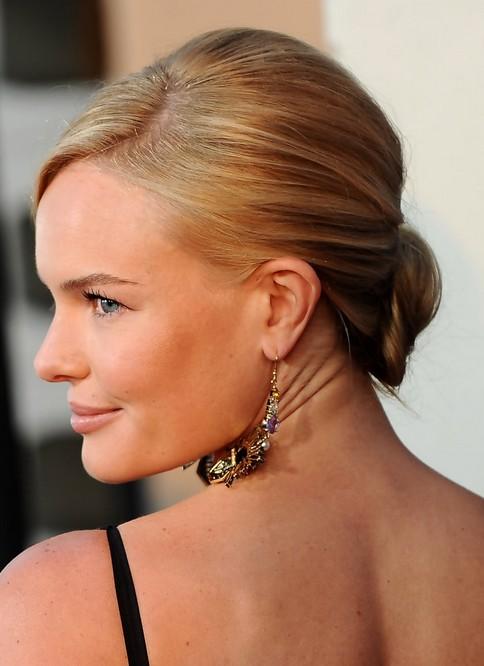 Kate Bosworth Updo Hairstyle: Pretty Bun