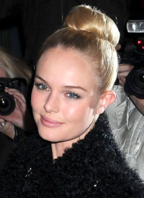 Kate Bosworth Updo Hairstyle: Retro Bun