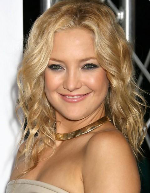 Kate Hudson Hairstyles: Modern Mediunm Curls