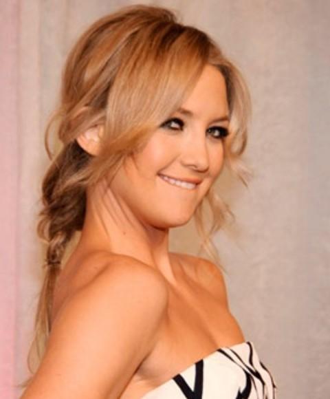 Kate Hudson Hairstyles: Sexy Loose Braid