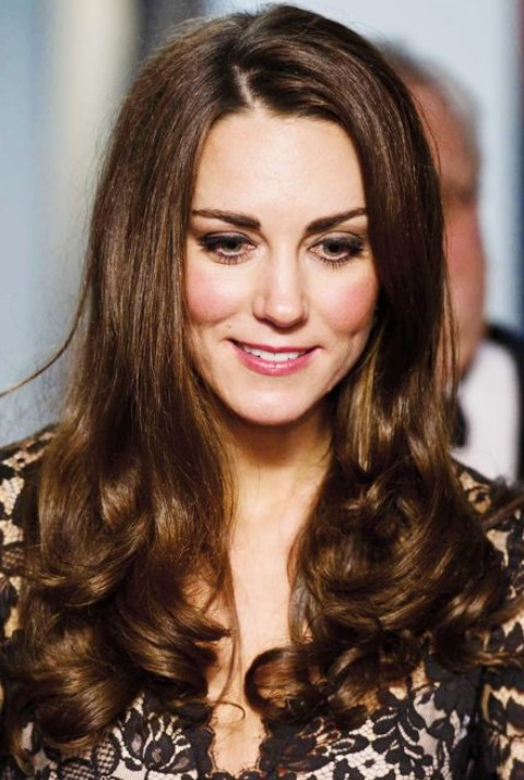 Kate Middleton Hairstyles: Adorable Long Curls