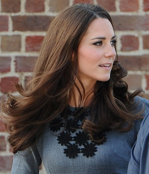 Kate Middleton Hairstyles: Beautiful Long Curls