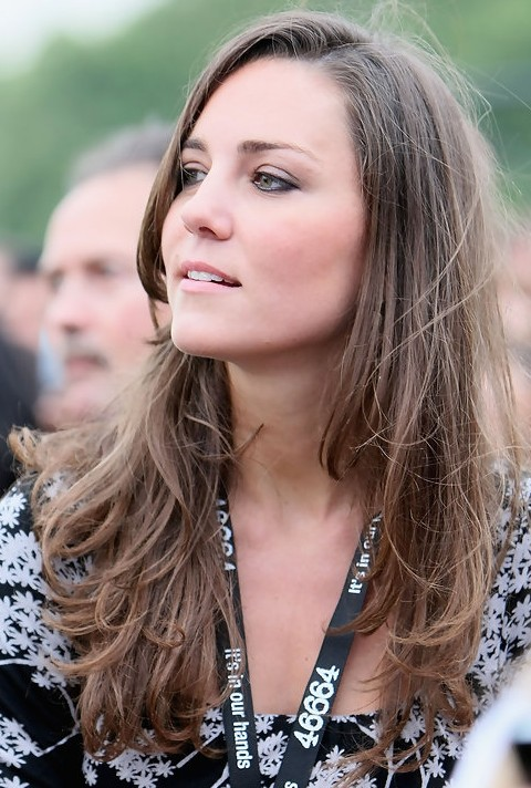 Kate Middleton Hairstyles: Brown Curls