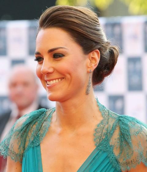 Kate Middleton Hairstyles: Elegant Loose Bun