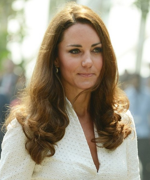 Kate Middleton Hairstyles: Pretty Long Curls