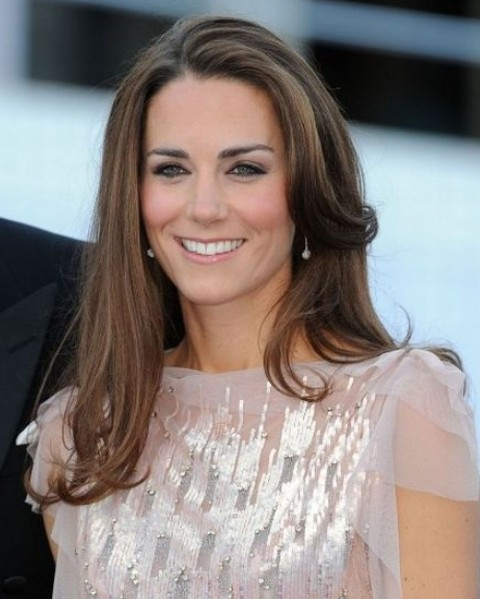 Kate Middleton Hairstyles: Radiant Long Curls