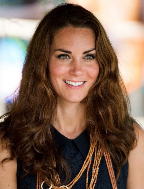 Kate Middleto Hairstyles: Stylish Wavy Haircut