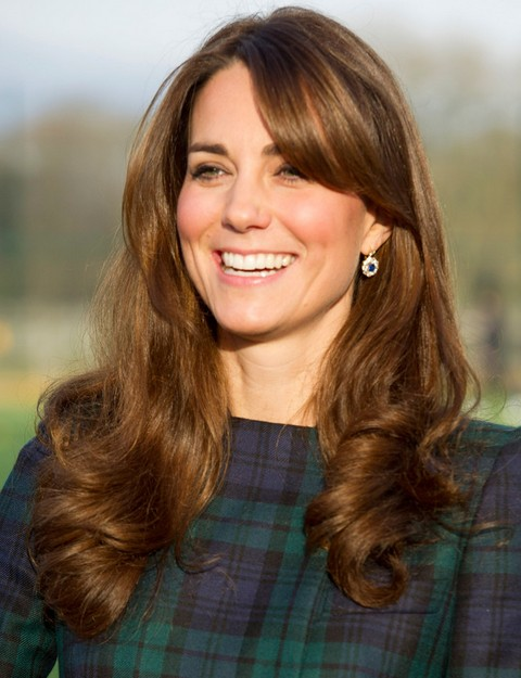 Kate Middleton Hairstyles: Sunny Long Curls