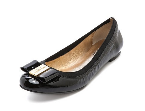 Kate Spade New York Tock Ballet Flats, black