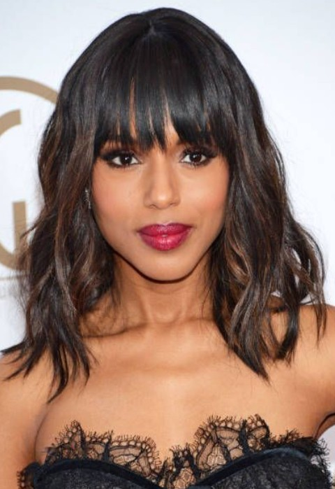 Kerry Washington Hairstyles: Sweet Ombre Hair